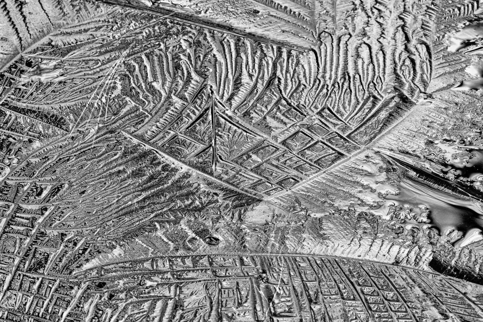 Patterns in the Ice