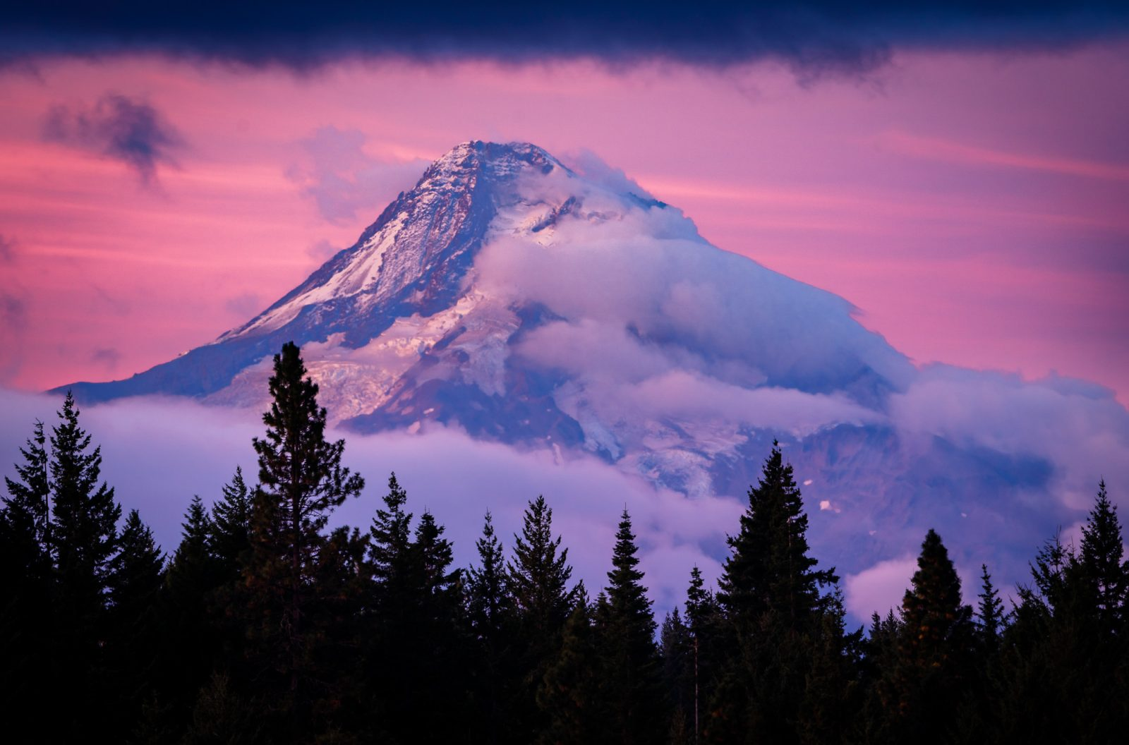 The Majesty of Mt Hood