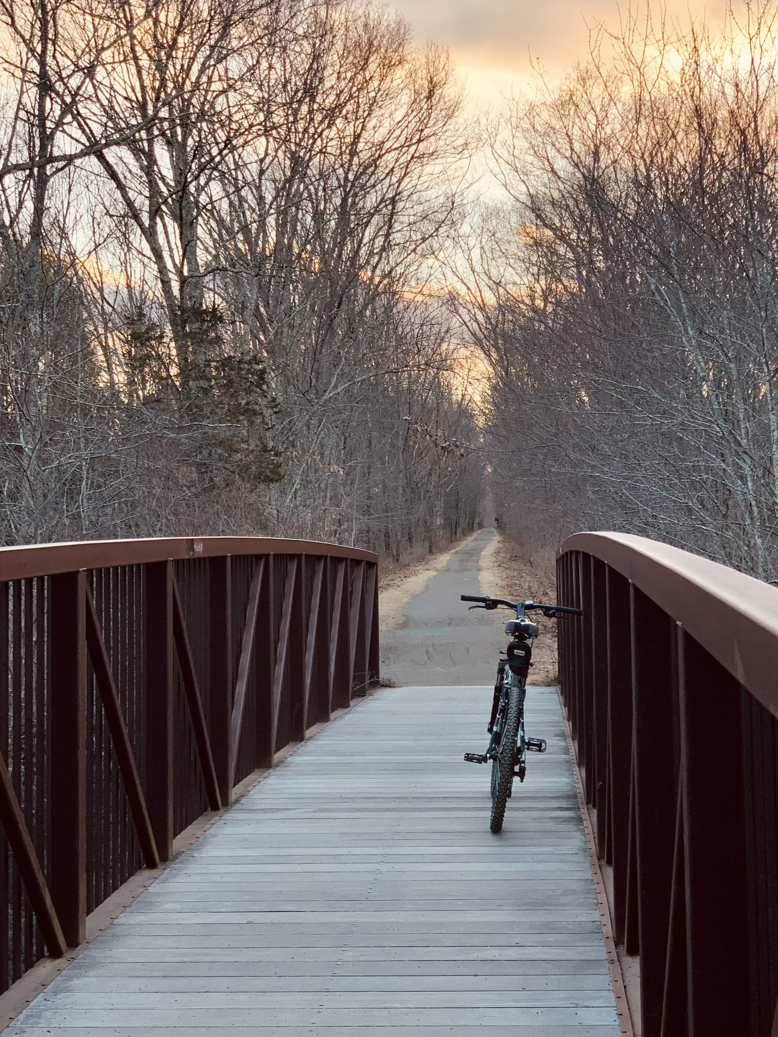 Bike Trail at Day's End