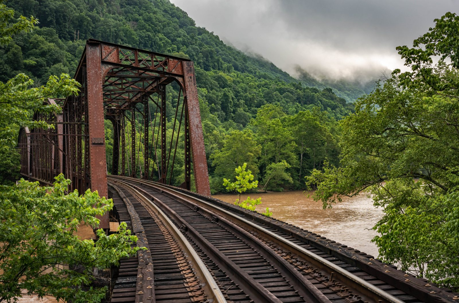 New River Old Trestle