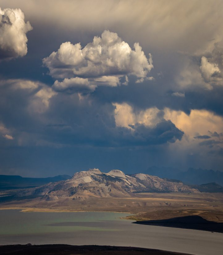 Summer Storm Cell Over The Mono Craters