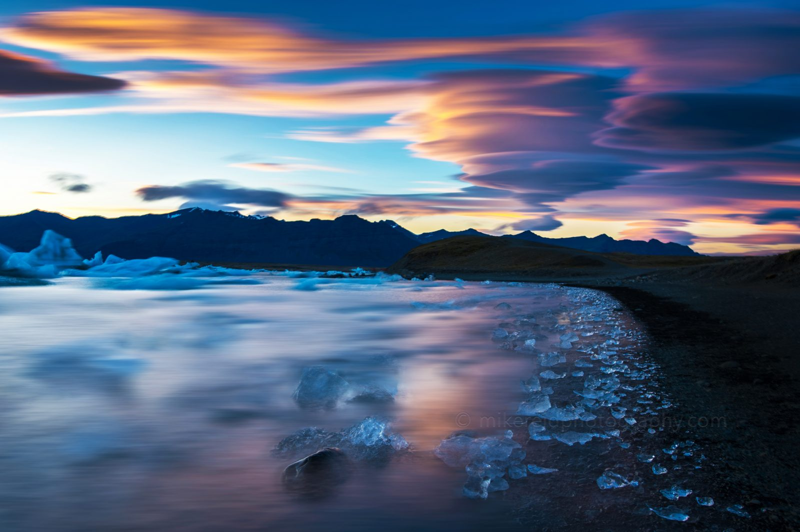 Iceland Jokulsarlon Fire and Ice
