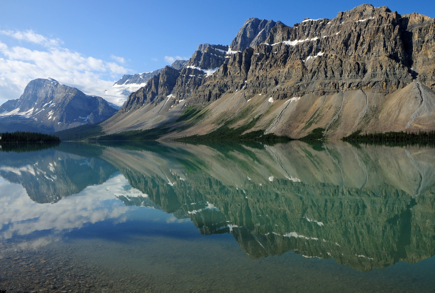 Bow Lake Refrections