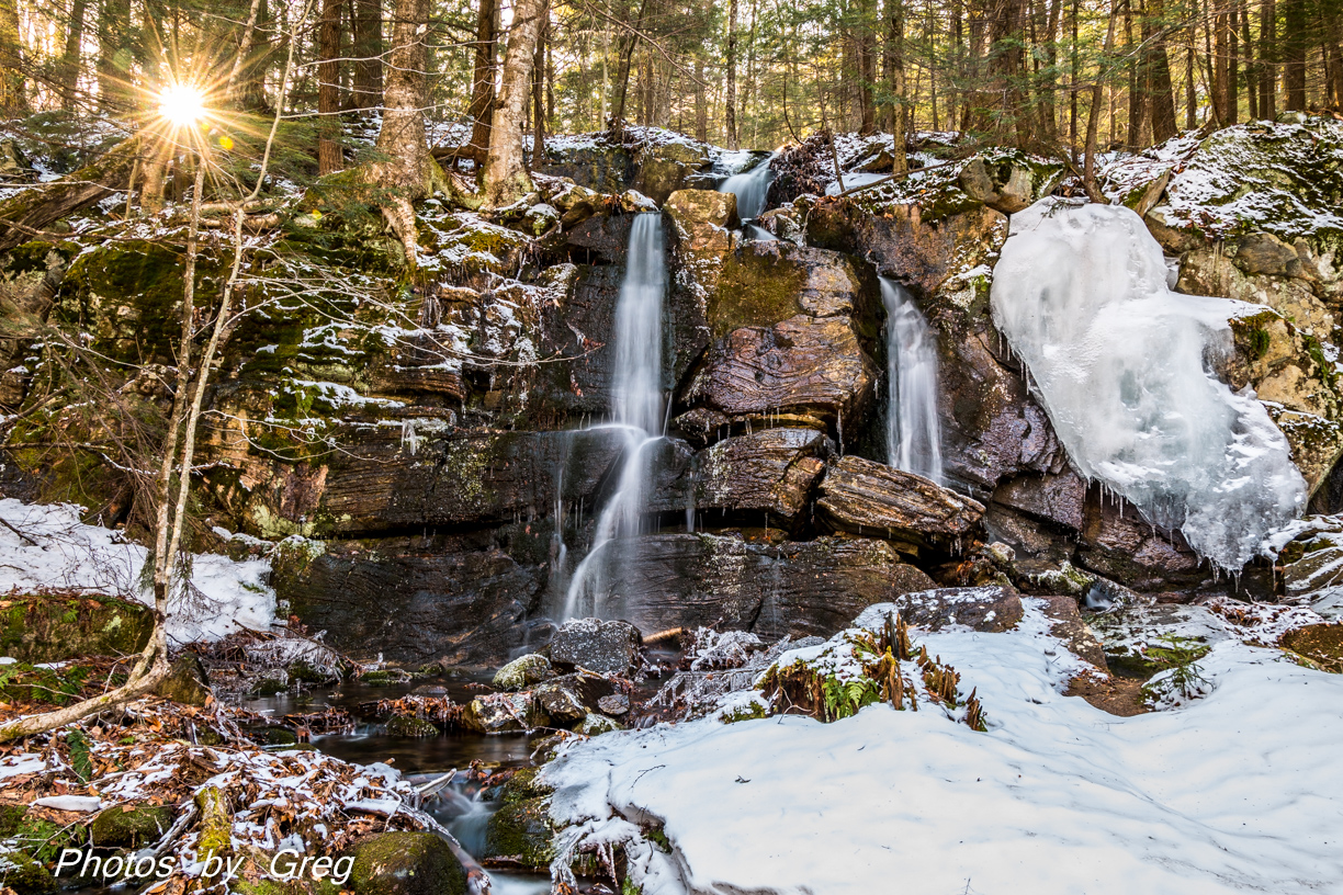 Water Fall and Ice