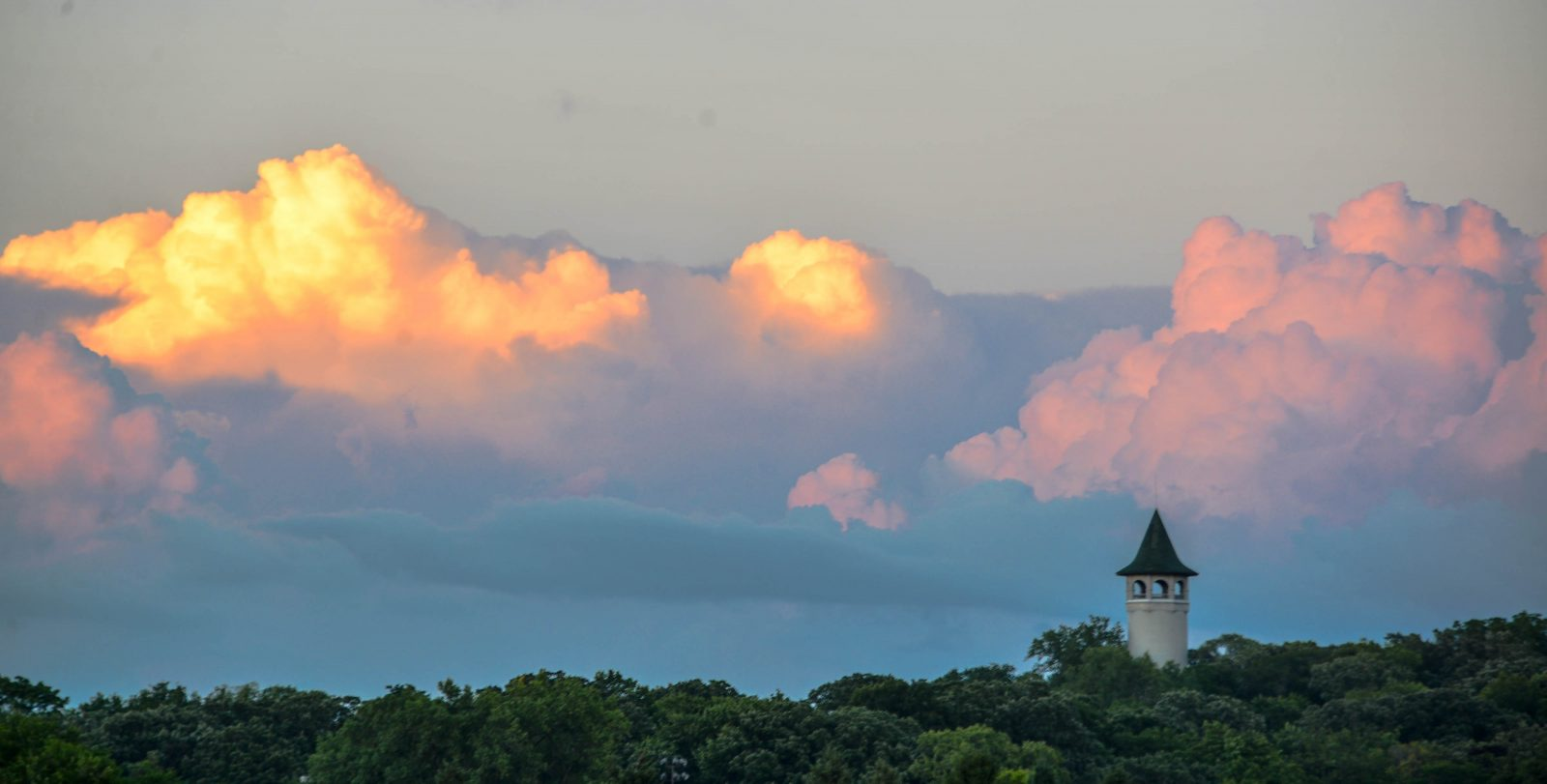 Clouds Over Witches Hat Tower
