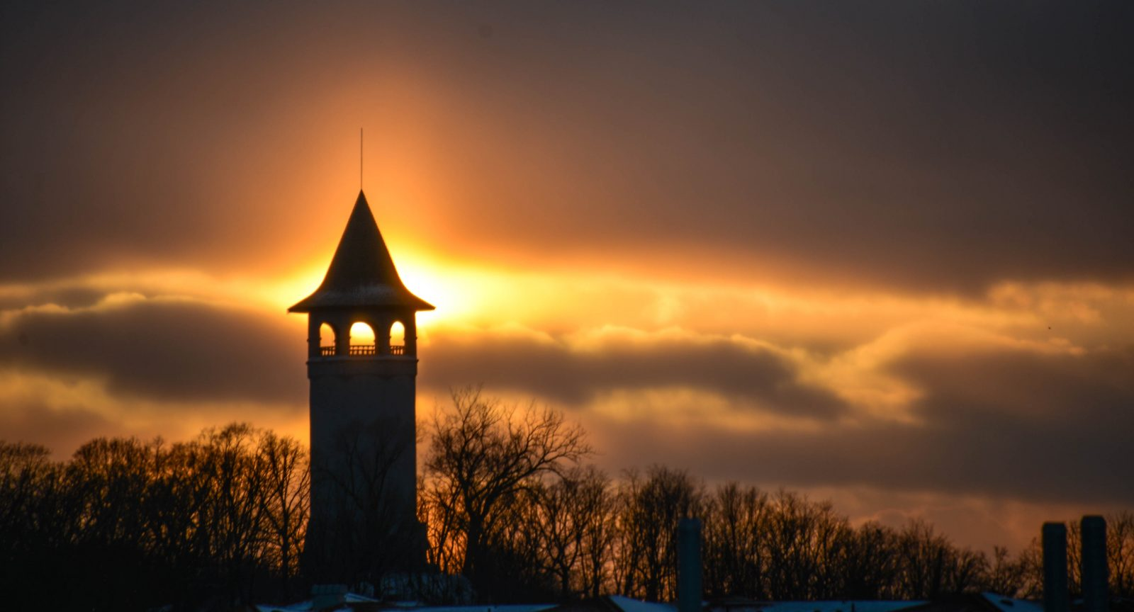 Sunset Over Witches Hat Tower