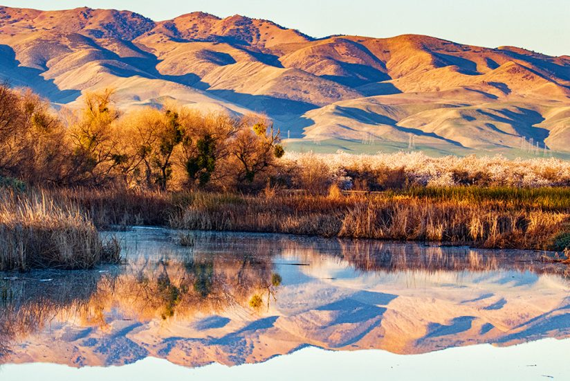 Central Valley foothills