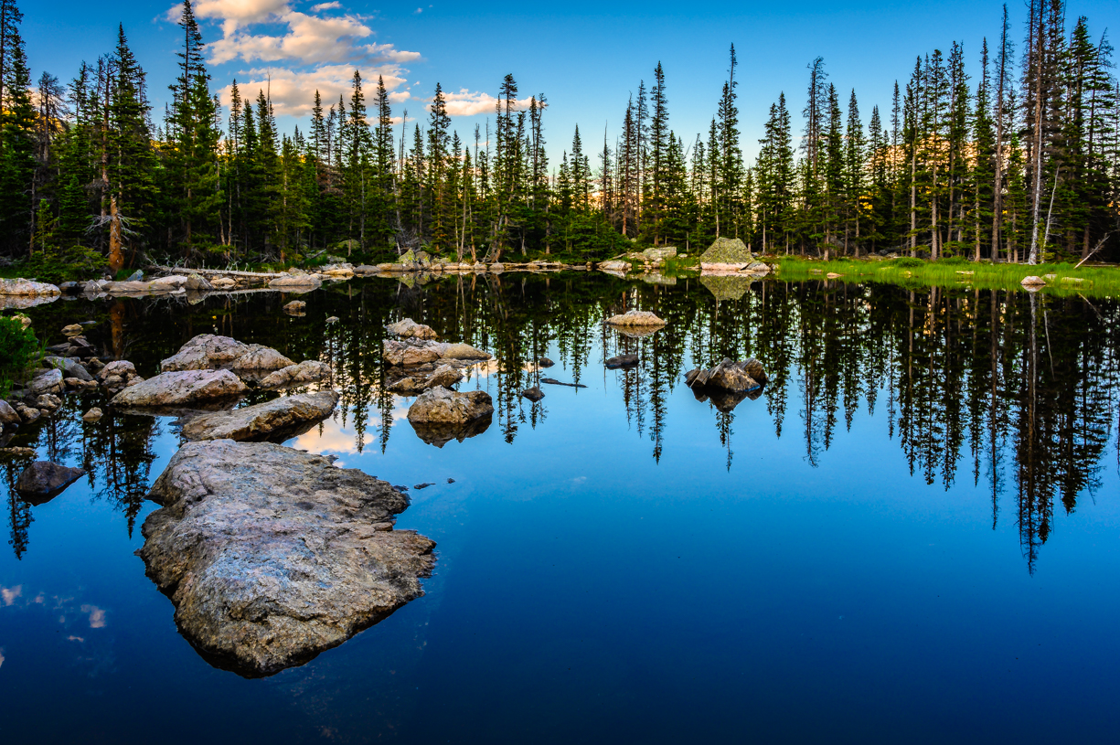 Reflecting in Rocky Mountain