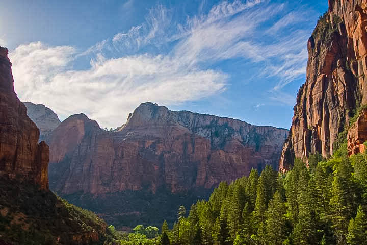Morning in Zion