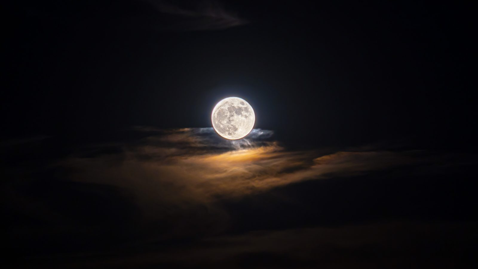 Moon on the Clouds