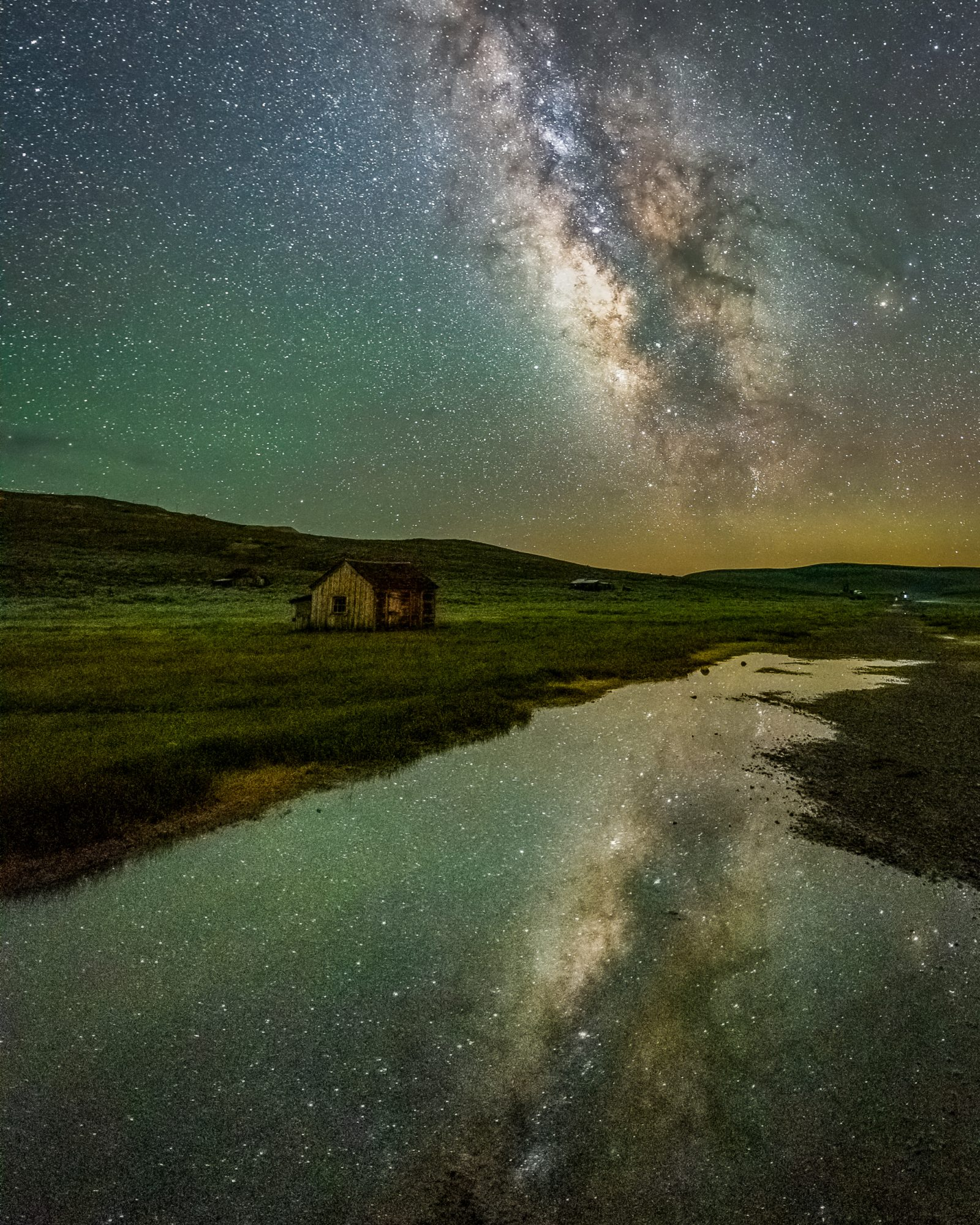 Milky Way Reflection in Bodie