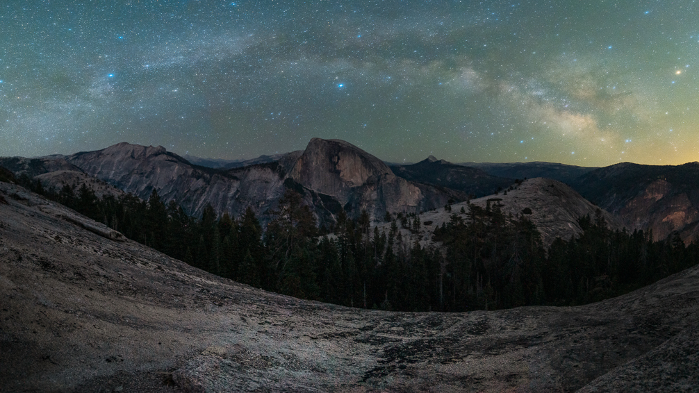 The Domes Milky Way