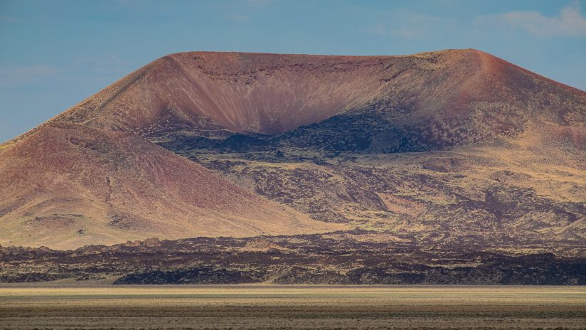 Cinder Cone and Lava Flow