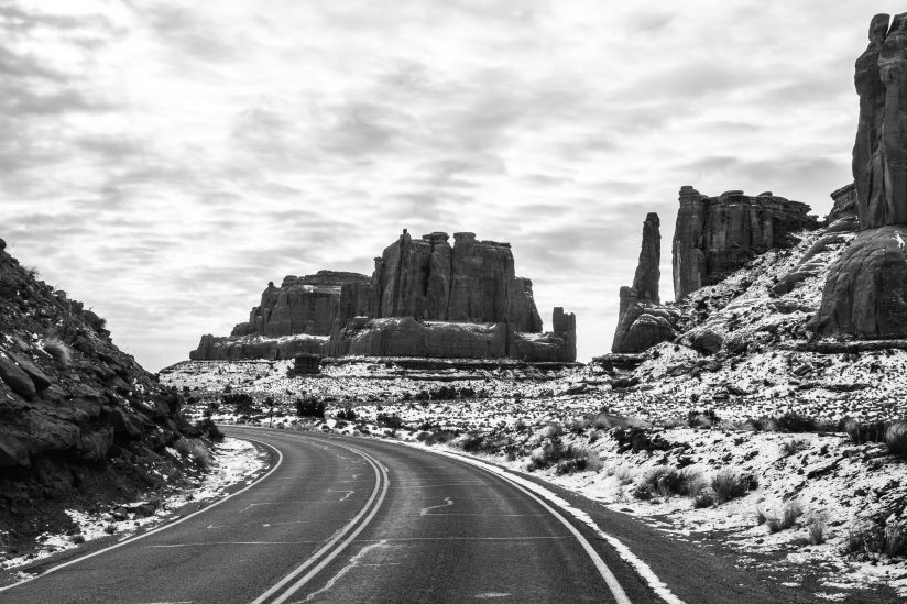 Highway to Arches