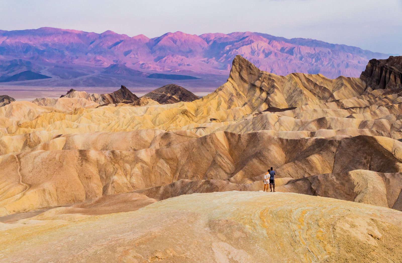 Young Love at Zabriskie Point
