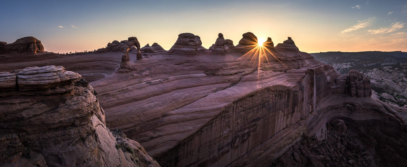 A new day at Delicate Arch