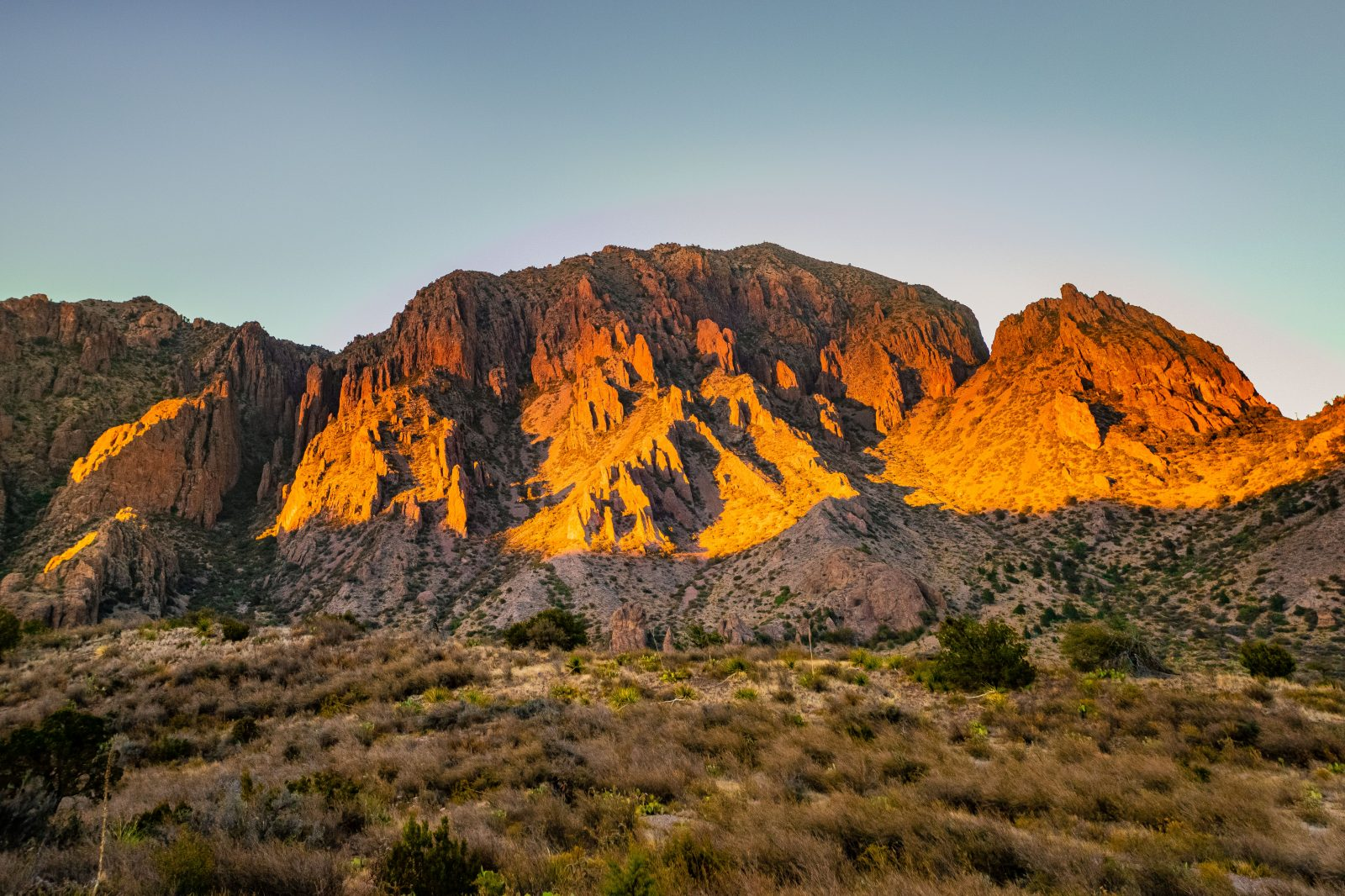 Sunset on the Chisos