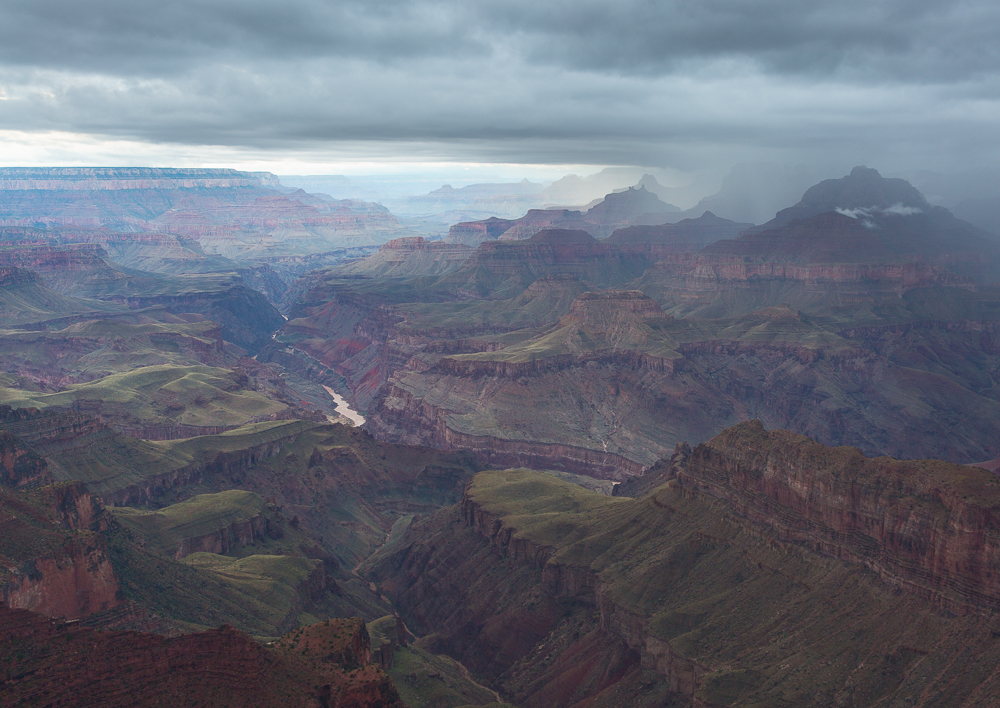 Storm in the Canyon..