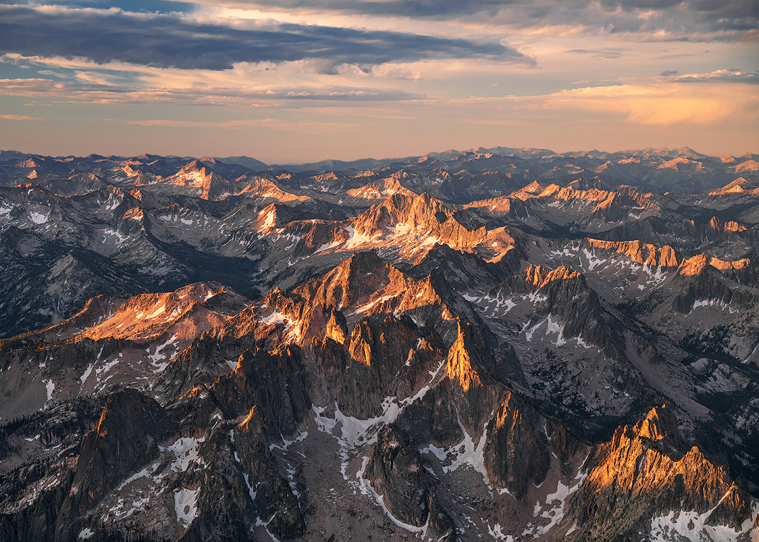 Sawtooth from Above