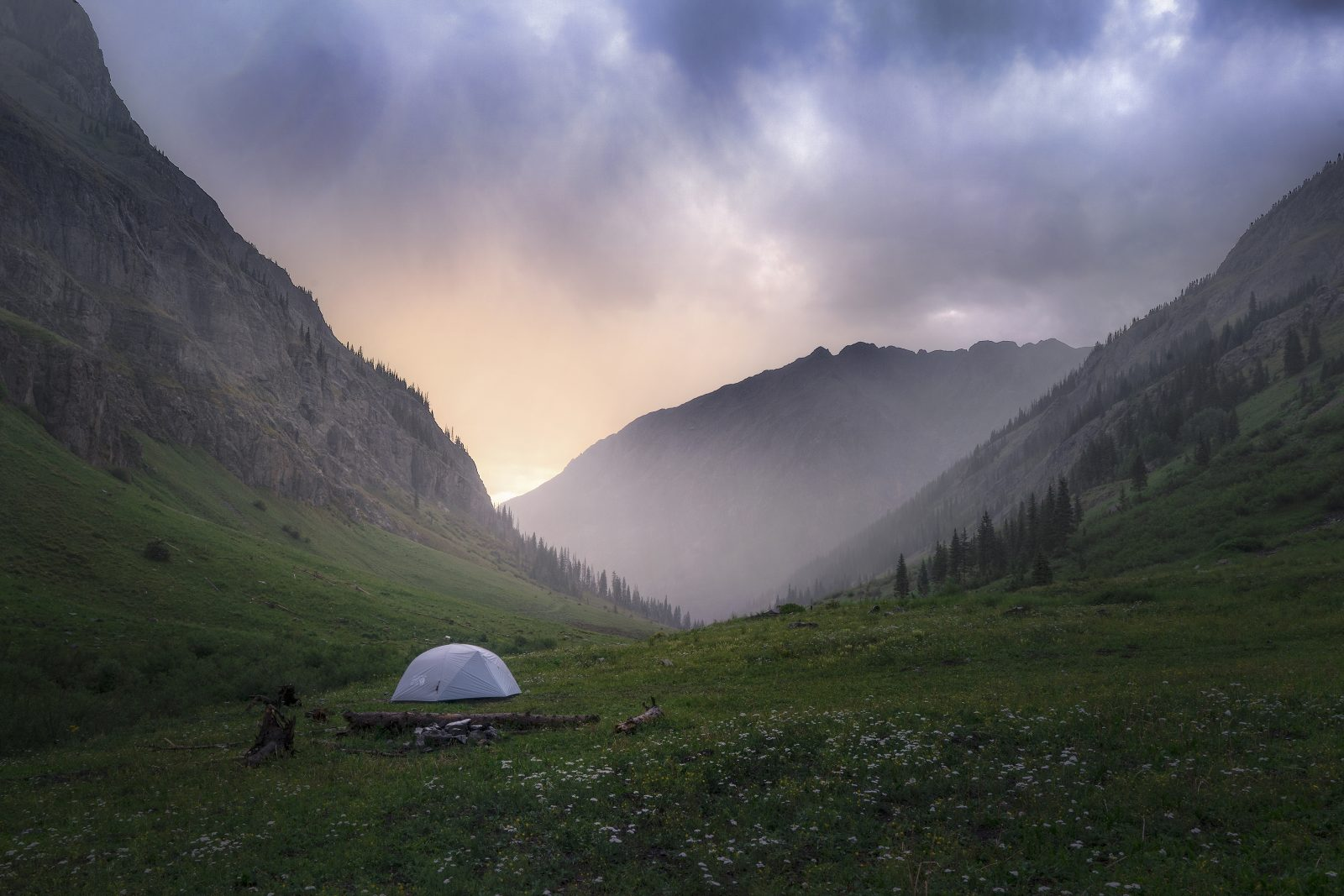 Camping in the San Juans