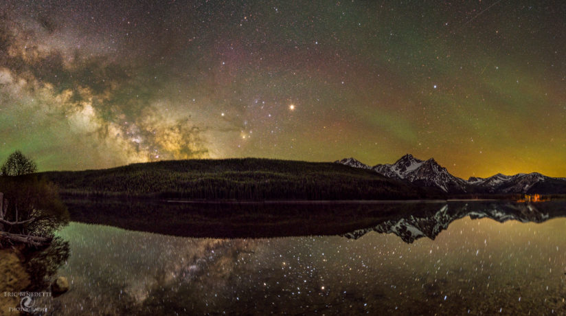 Milky Way Rising over Stanley Lake
