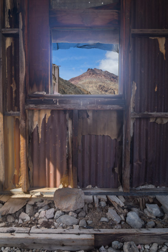 A Room with a View…….and a couple of bullet holes