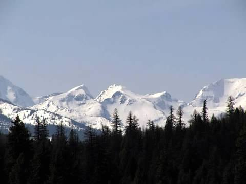 Swan Mountain Range