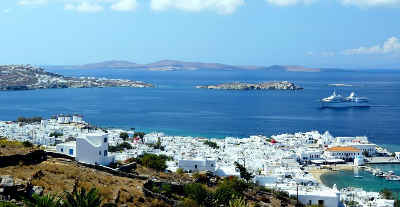 Astonishing view of Mykonos