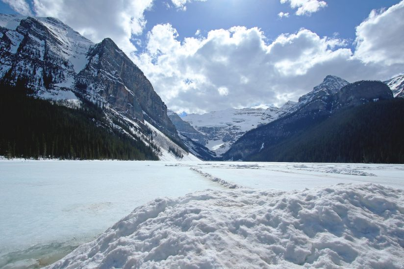 Winter wonder of the Lake Louise