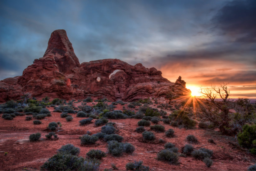 Turret Arch Sunset