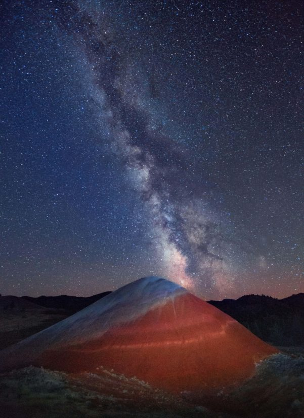 Milky Way over Painted Hill