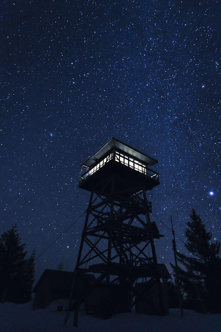 Stars at the Lookout