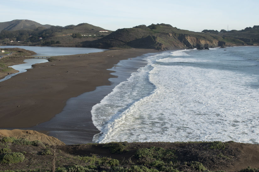 Small Waves at Rodeo Beach