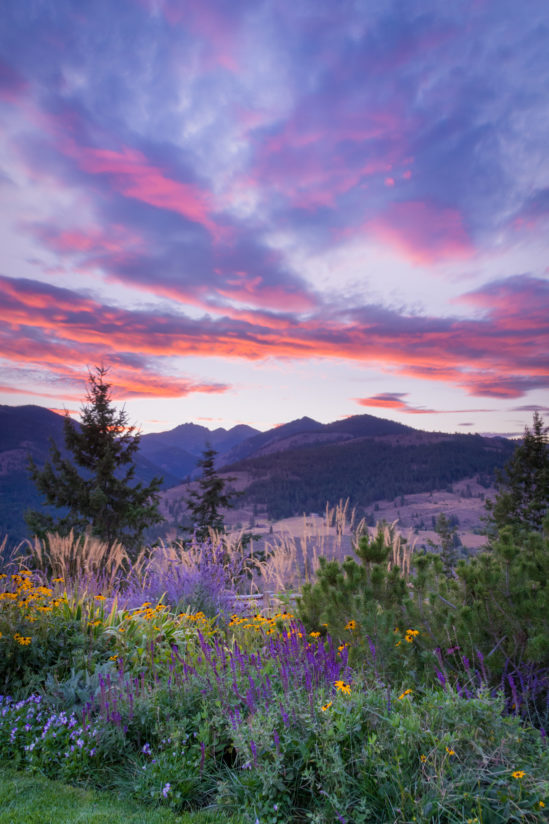 Methow Sunset colors