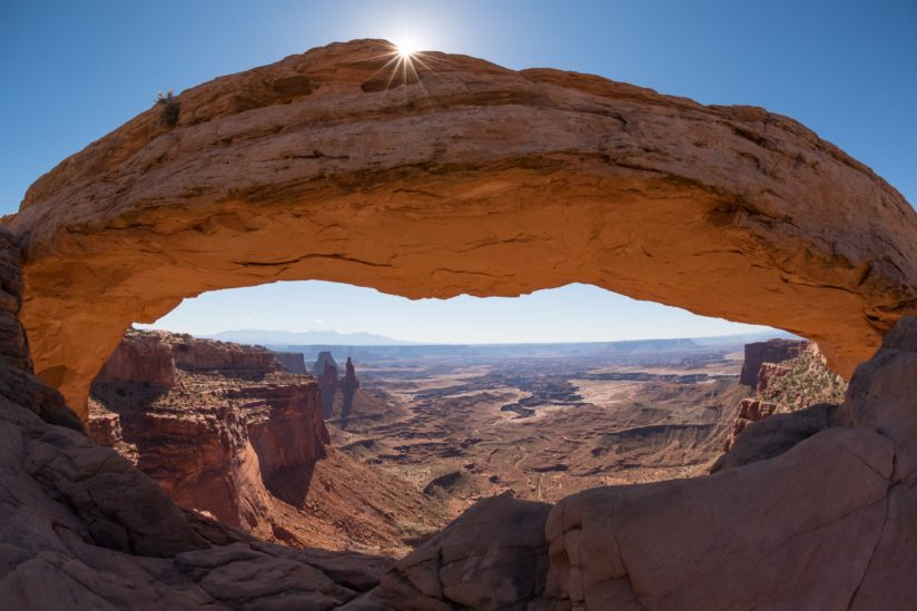 High Noon at Mesa Arch