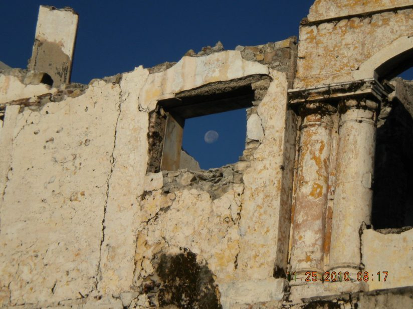 Windows in the ruins
