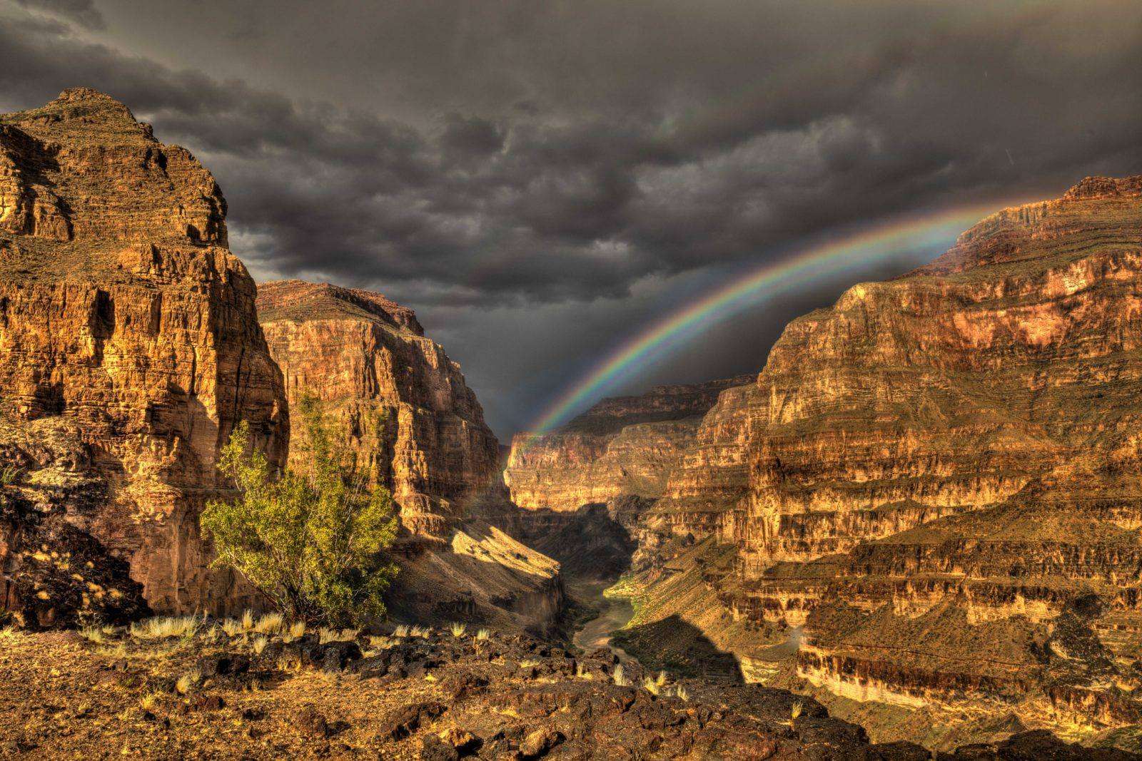 Grand Canyon Rainbow