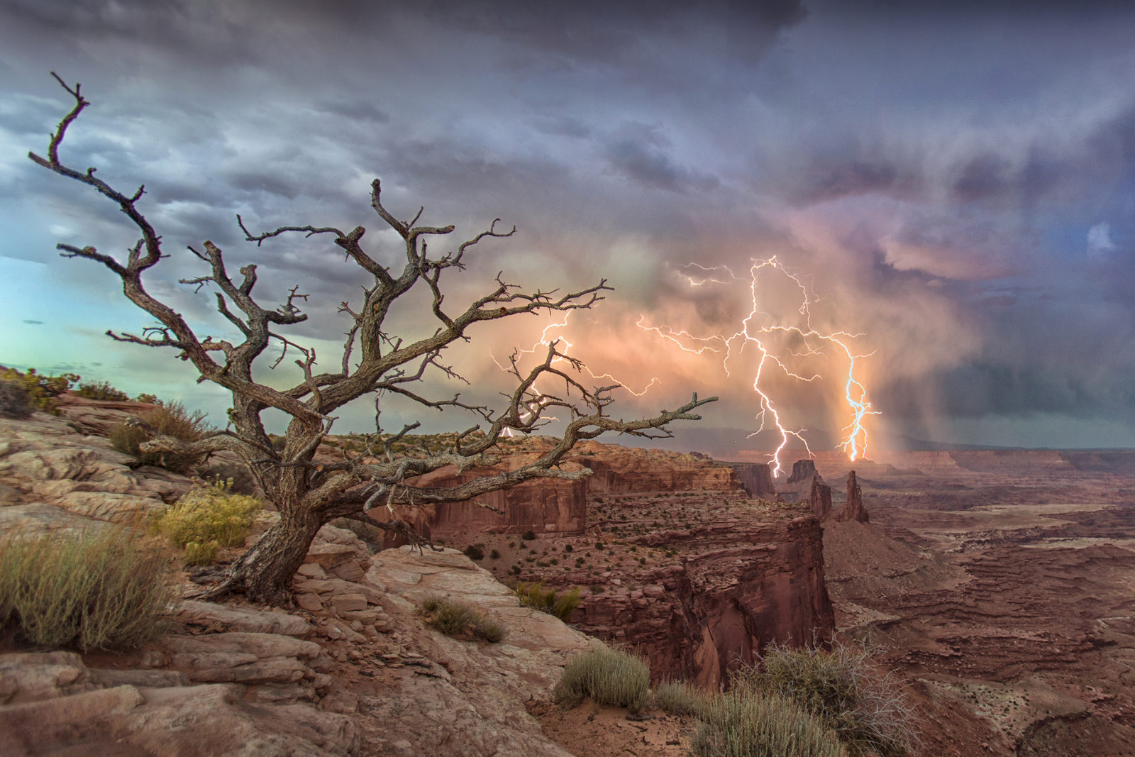 Canyonlands Lightning