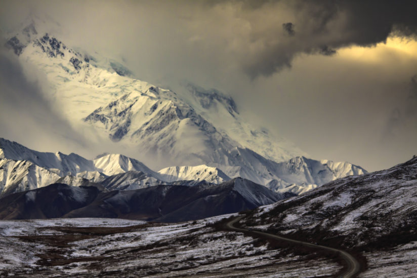 Denali on a Stormy Day