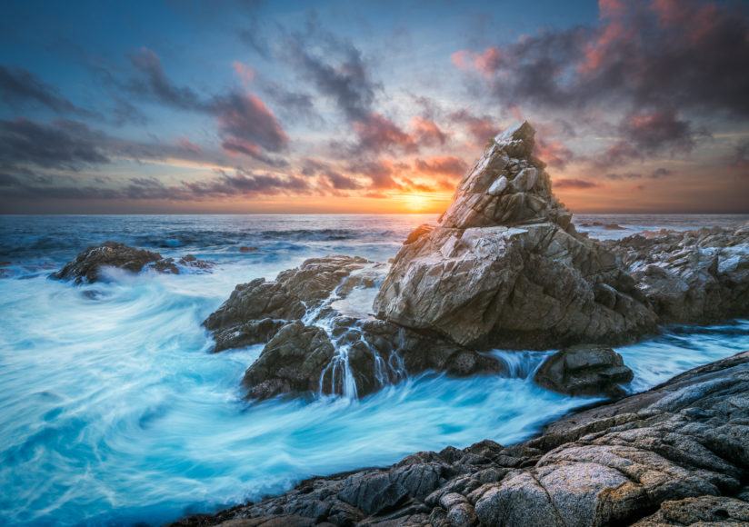 Matterhorn Rock Sunset – Big Sur, CA