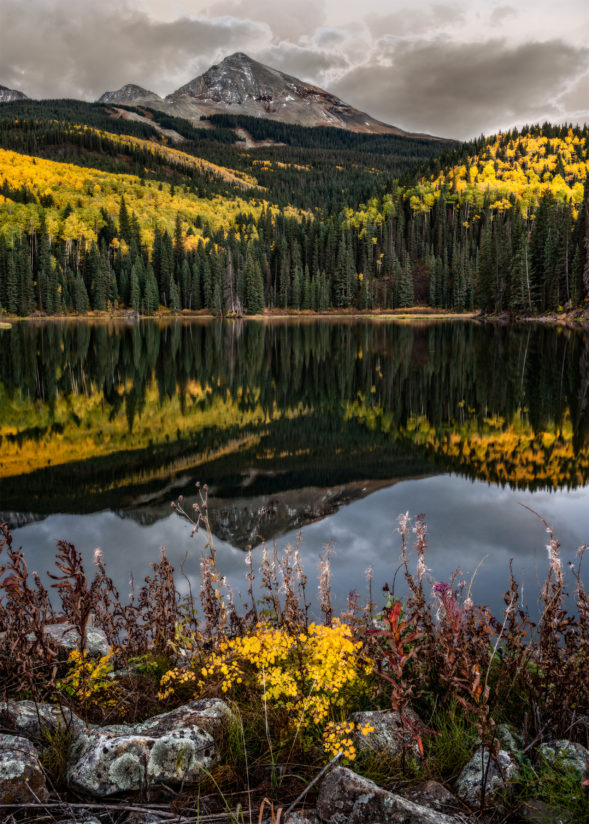 Woods Lake, Colorado, autumn color