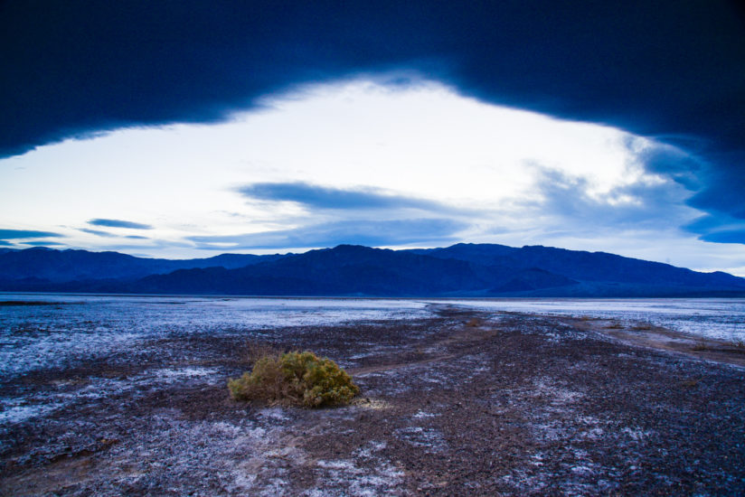 Panamint Range From Death Valley
