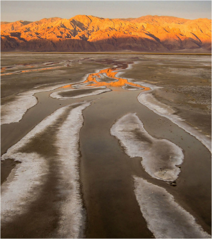 Salt Creek Flats at Sunrise