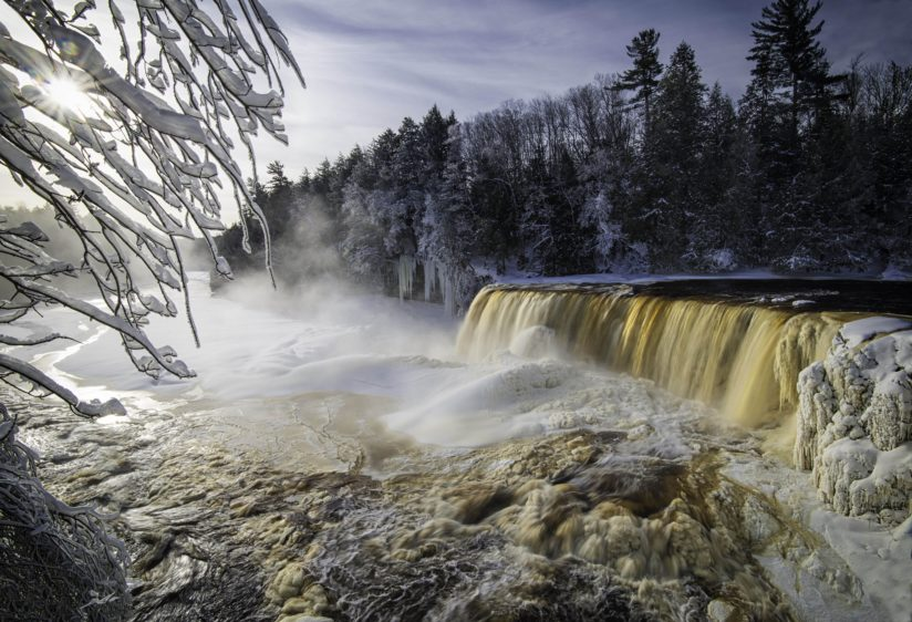 Early Light Over Tahquamenon Falls