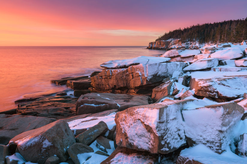 Acadia Winter Sunrise