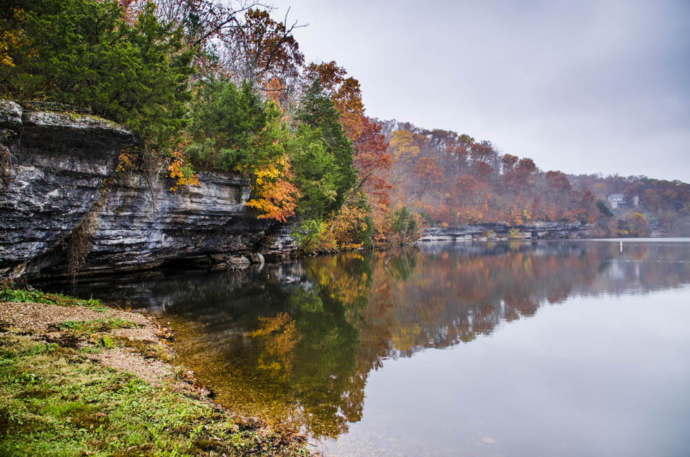 Color in the bluffs
