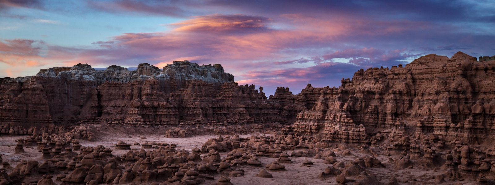 Goblin Valley at Sunset