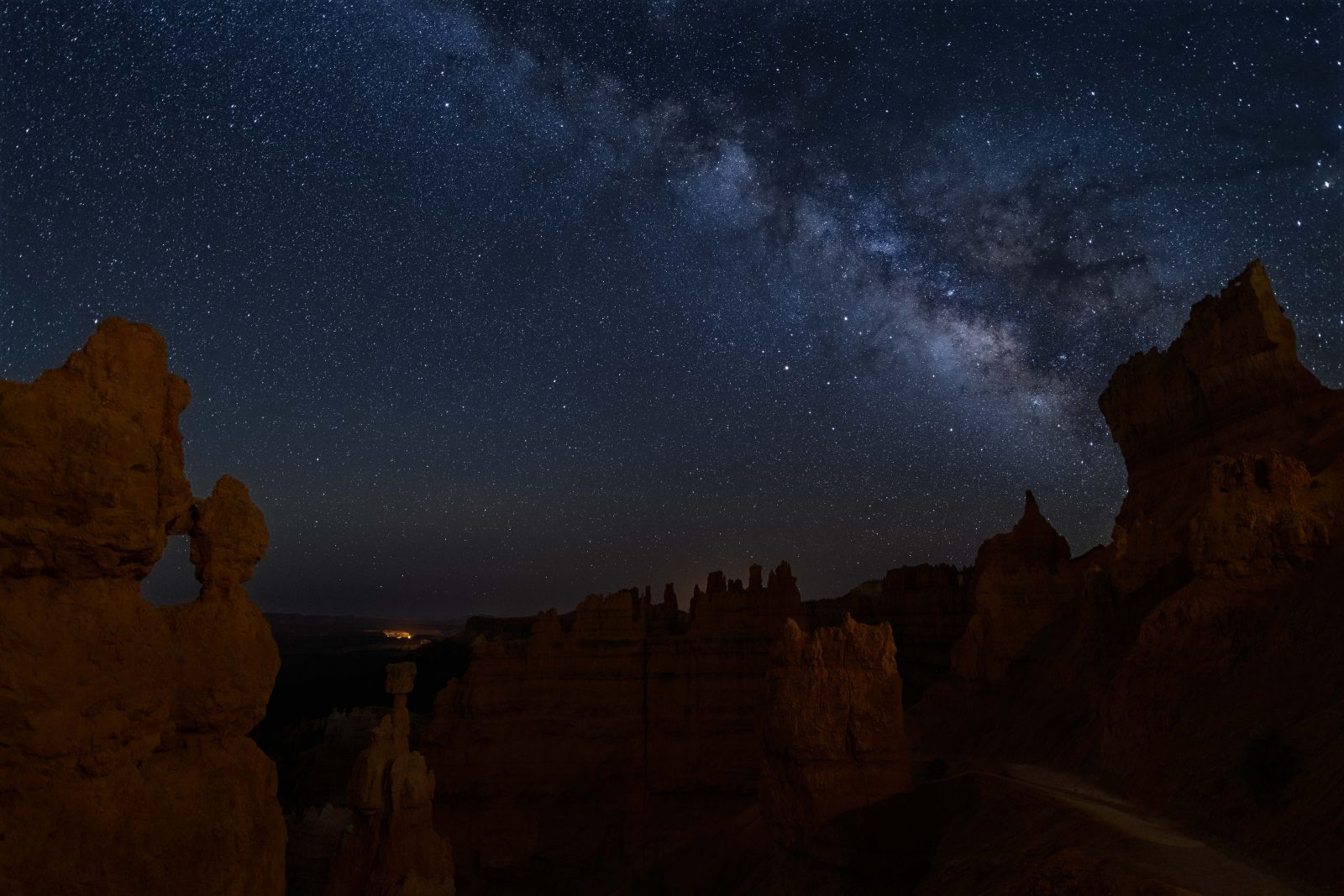 Night Sky over Bryce Canyon