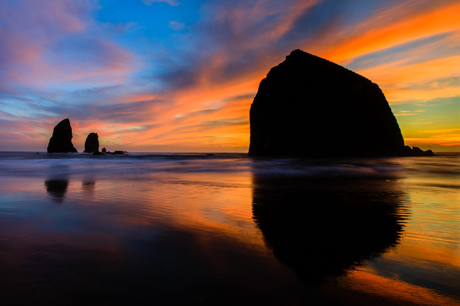 Transitions of Light at Cannon Beach