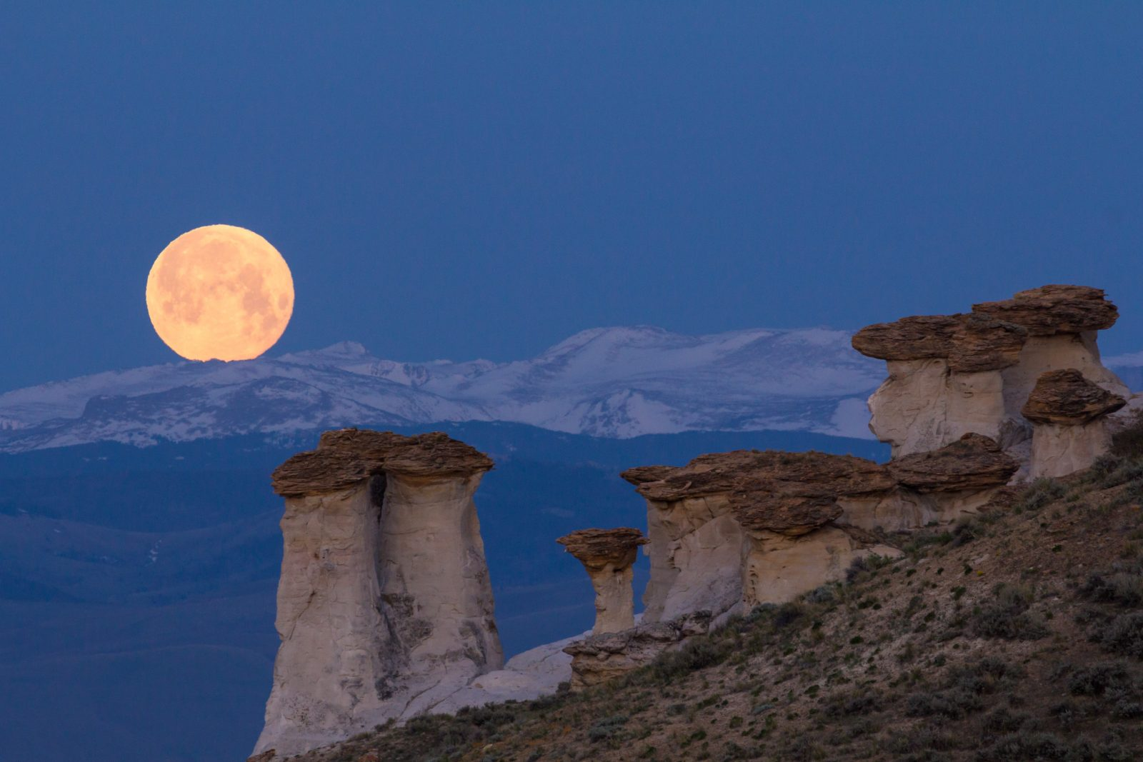 Wind River Supermoon